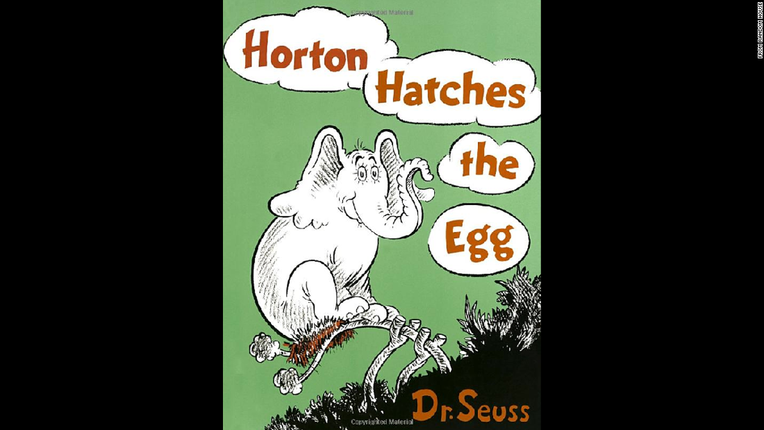 """Horton Hatches the Egg"" was published in 1940."