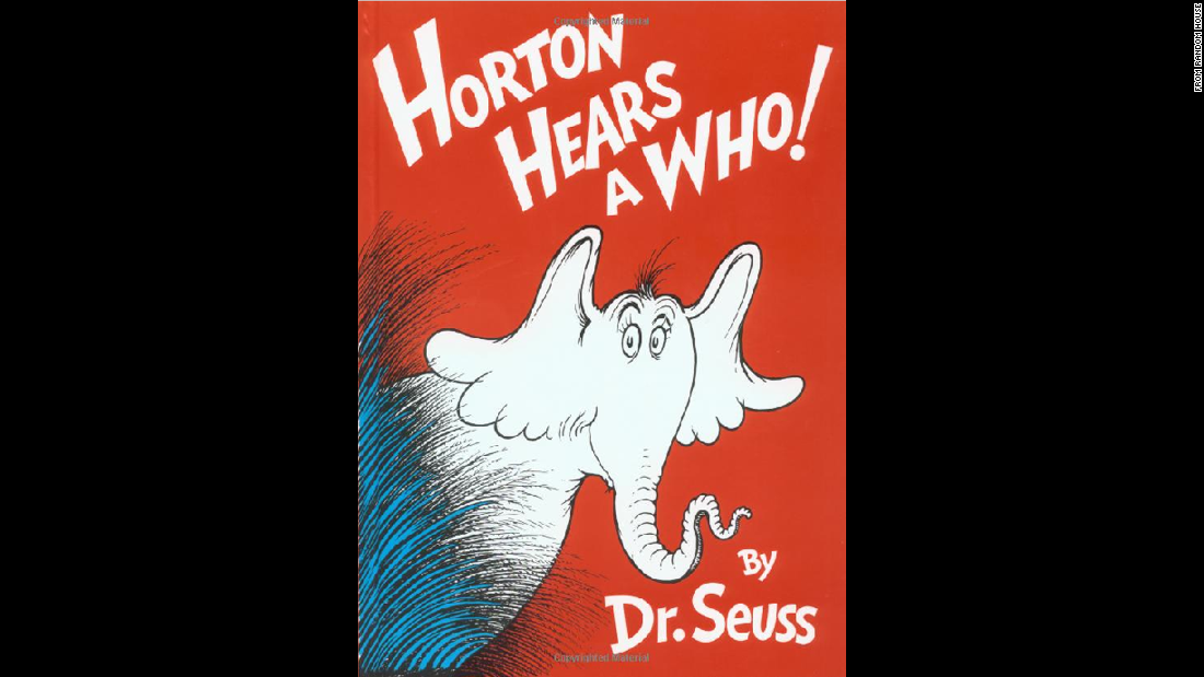 """Horton Hears a Who!"" was published in 1954. A film version came out in 2008."