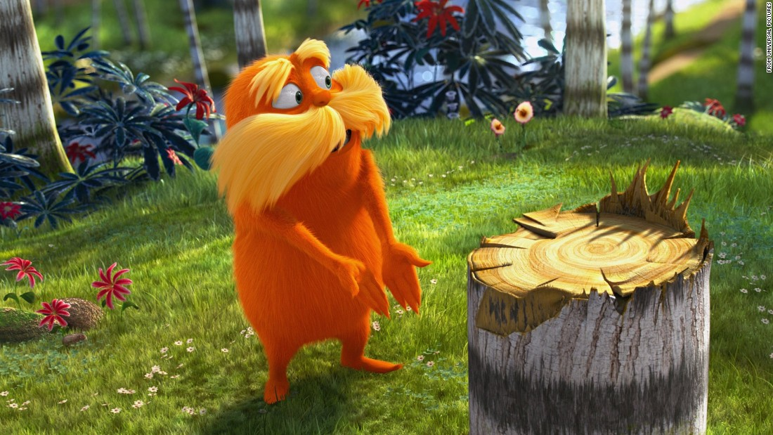 "A film version of ""The Lorax"" was released in 2012."