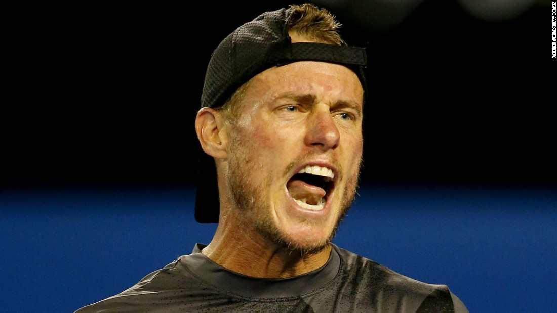 There will be no fairy-tale ending for Aussie Lleyton Hewitt in Melbourne. The 33-year-old, seen here, lost in five sets to fellow 33-year-old Benjamin Becker.