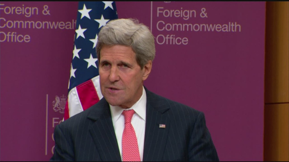 Kerry: ISIS is being defeated