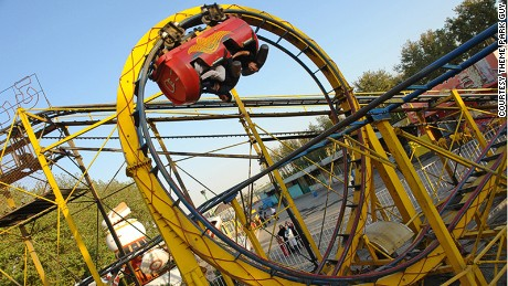 Scariest theme park rides on Earth