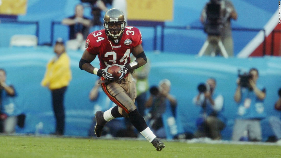 Tampa Bay safety Dexter Jackson had two interceptions for a vaunted Buccaneers defense that led the way to a 48-21 victory over Oakland in Super Bowl XXXVII.