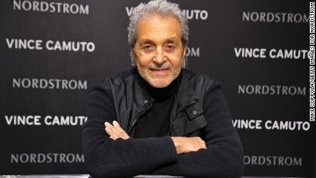 PARAMUS, NJ - APRIL 04:  Designer Vince Camuto poses during his marketing event at Nordstrom Garden State Plaza on April 4, 2012 in Paramus, New Jersey.  (Photo by Mike Coppola/Getty Images for Nordstrom)