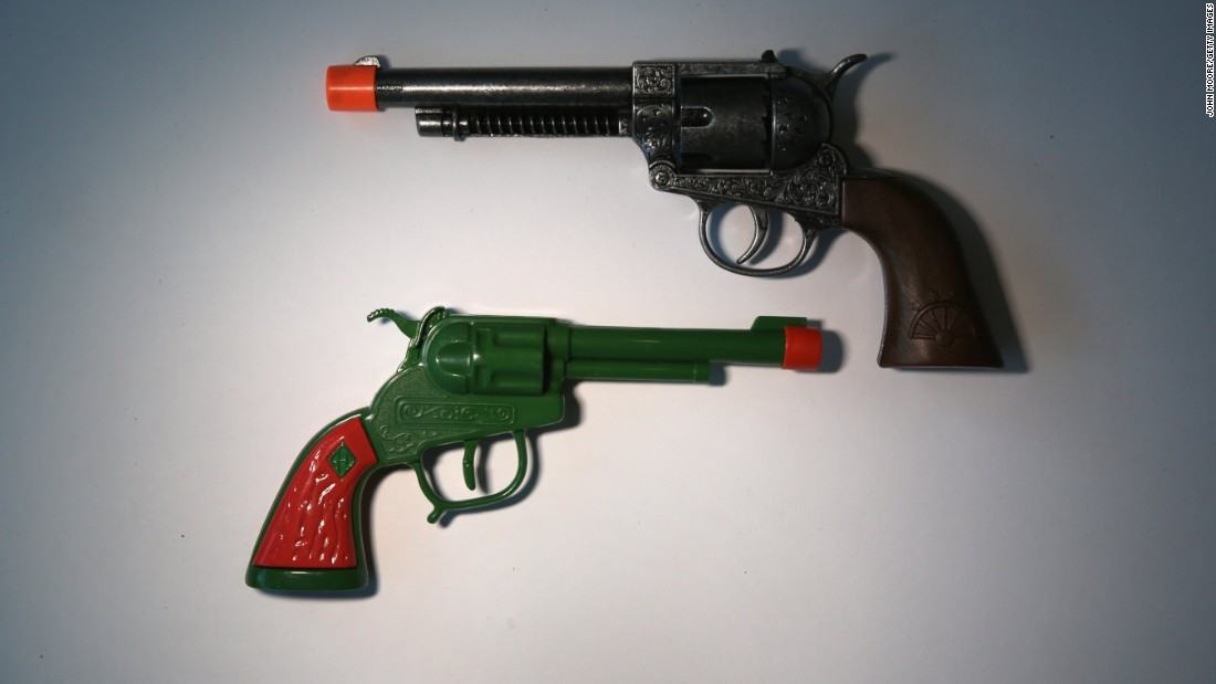 And more toy guns.
