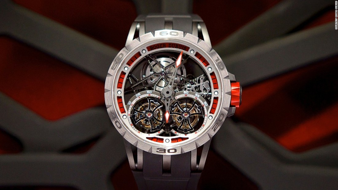 The web-like motifs were there to evince the spirit of their new Excalibur Spider Double Flying Tourbillon which takes the skeleton design - where mechanical parts are intentionally exposed - to an extraordinary degree.