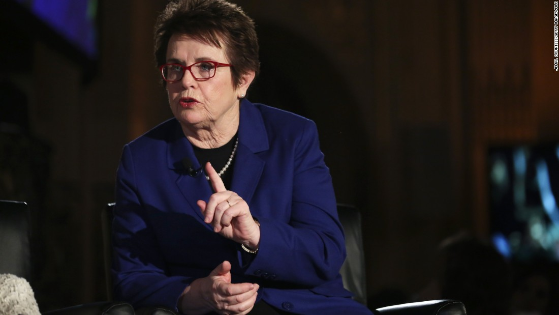 "Multiple U.S. grand slam champion and equality advocate, Billie Jean King described the comment as ""truly sexist,"" adding ""if you ask the women, you have to ask the guys to twirl as well."""