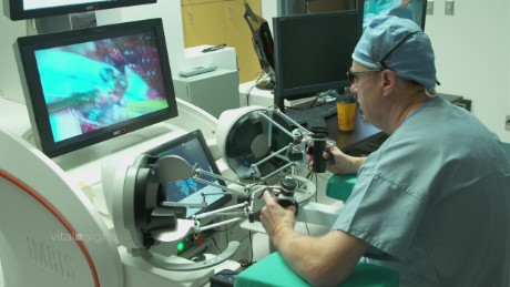 Surgical robot inspired by space