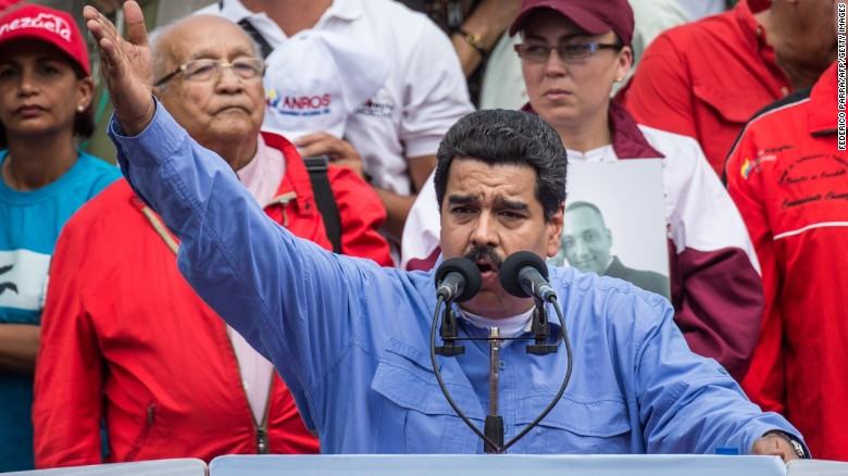 Venezuela says it has detains U.S. pilot