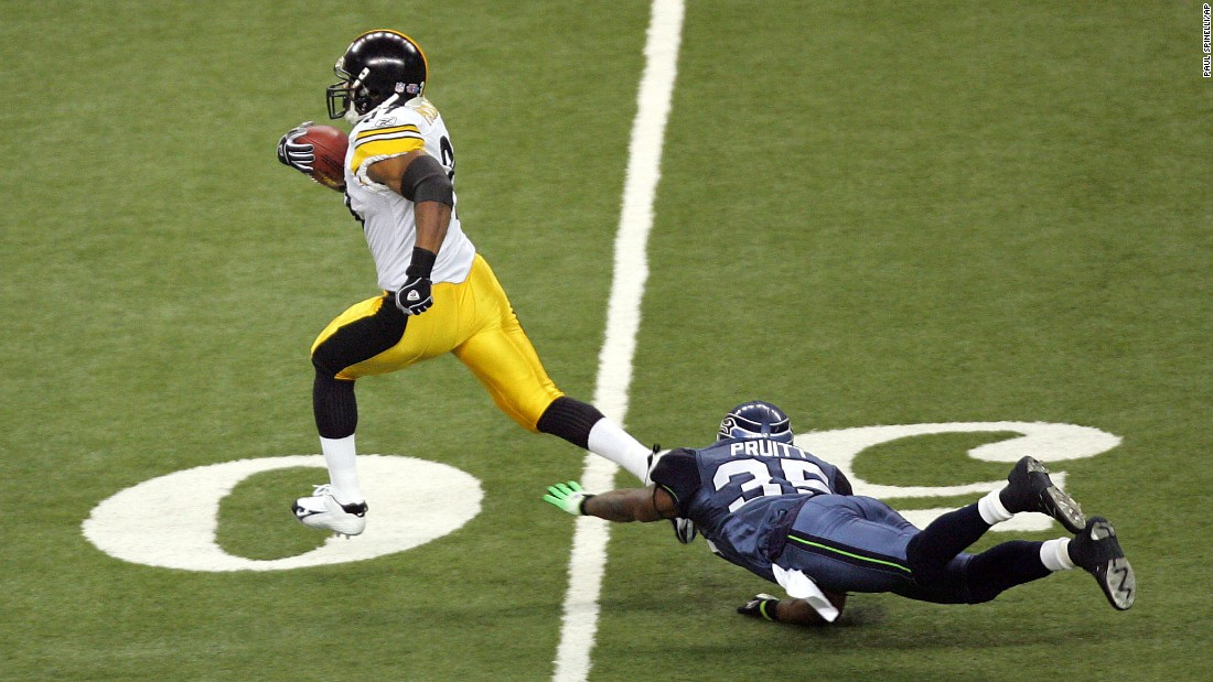 "<strong>Longest run in a Super Bowl:</strong> ""Fast"" Willie Parker broke a 75-yard run for a Pittsburgh touchdown in 2006."