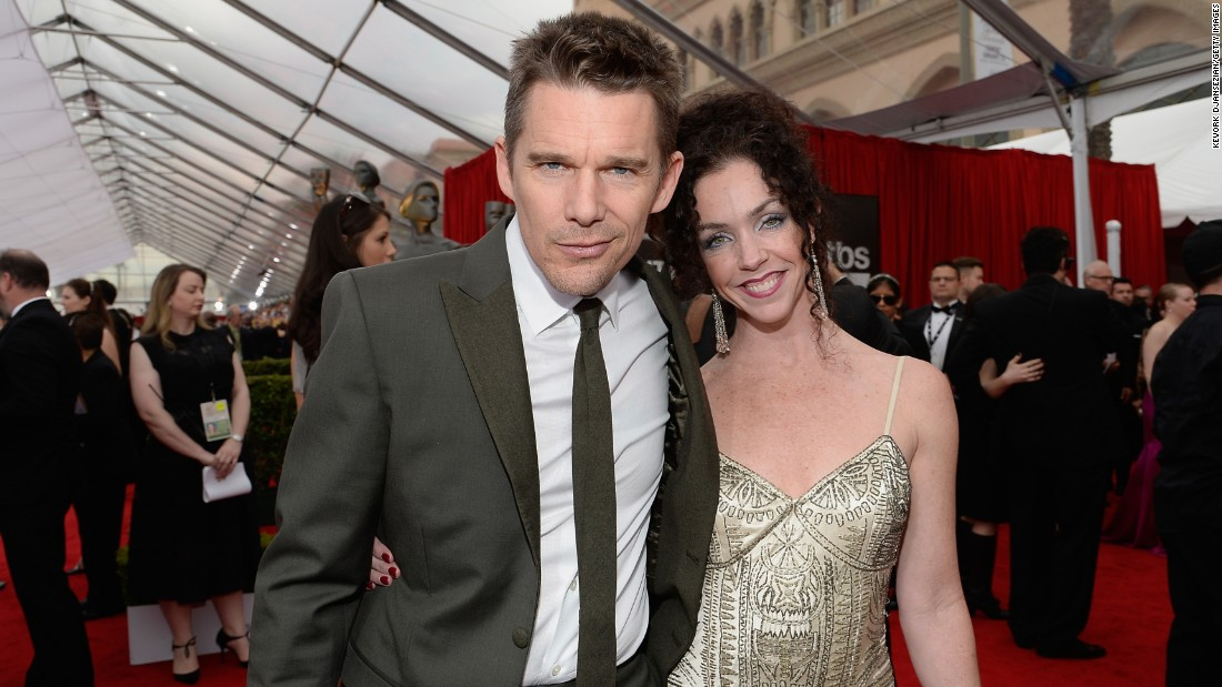 Ethan Hawke and Heather Rutledge
