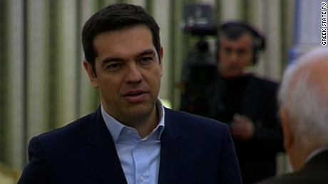 "Prime Minister Alexis Tsipras: ""If our partners keep insisting on austerity, the debt will only continue to grow."""