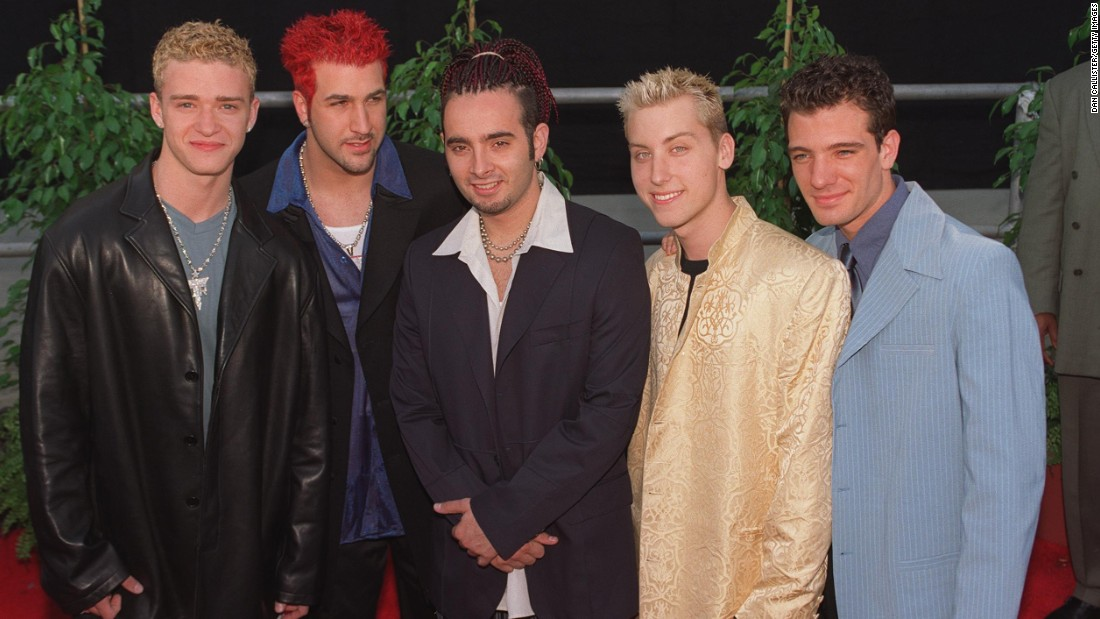"The Backstreet Boys had to battle for boy band domination in the late '90s with the likes of 'N Sync, fronted at the time by a curly-haired Justin Timberlake, left. (The mystery of those curls has remained unsolved.) Interestingly enough, the tables have now turned: Whereas 'N Sync was killing it in 1998, <a href=""http://marquee.blogs.cnn.com/2013/08/27/the-one-n-sync-member-who-wants-a-reunion-tour/?iref=allsearch"" target=""_blank"">in 2013 they could barely reunite for more than a minute.</a> In 2017 <a href=""http://money.cnn.com/2016/09/23/media/backstreet-boys-vegas-residency/"" target=""_blank"">they launched a Vegas residency. </a>"