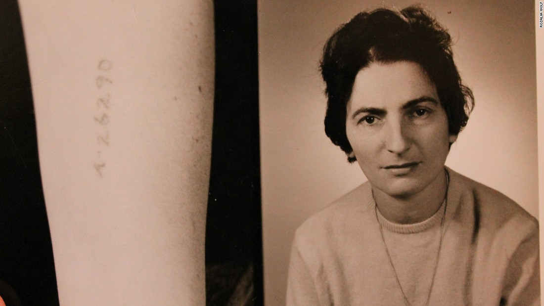 Rozalia is pictured in her younger years. She was living with her family in Krakow when Adolf Hitler's troops marched into Poland in the fall of 1939.