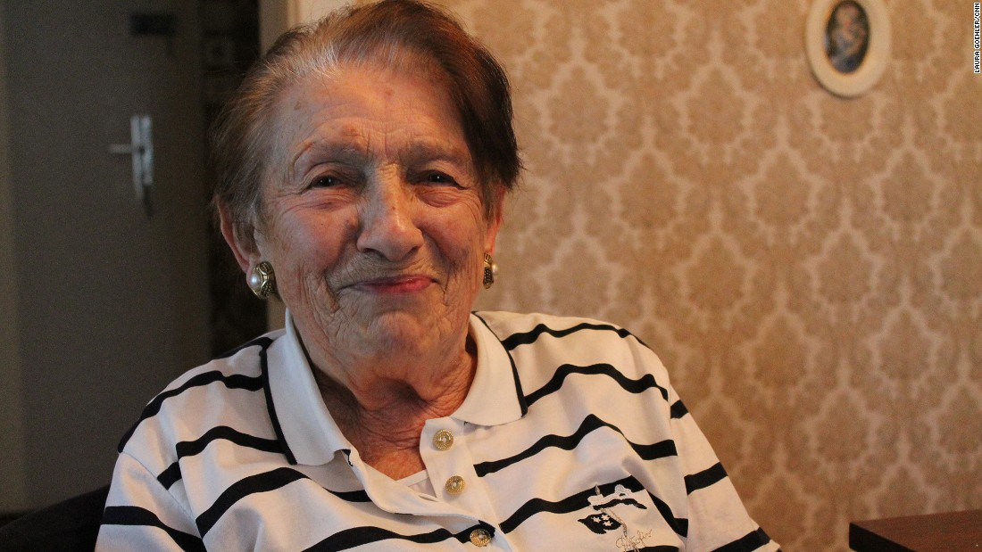 Rozalia Wolf, who turns 91 this year, was only 15 years old when she was brought to Auschwitz.