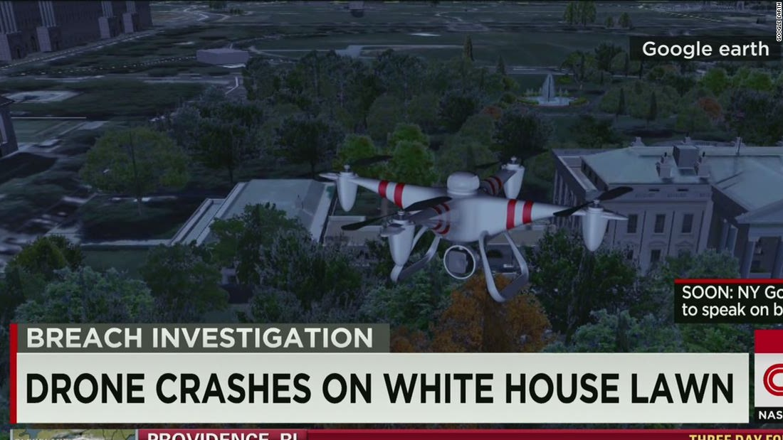 Secret Service investigating small drone