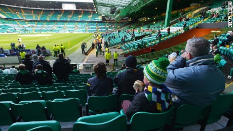 Attendances at both Celtic and Rangers matches have fallen significantly in recent years.