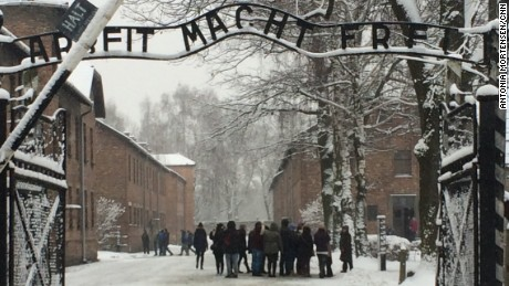 Lauder: Auschwitz symbolizes indifference to anti-Semitism