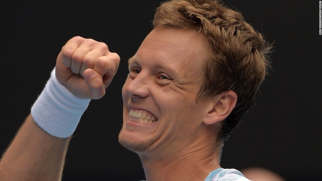 Berdych snapped a 17-match losing streak against Nadal. Nobody beats him 18 times in a row.