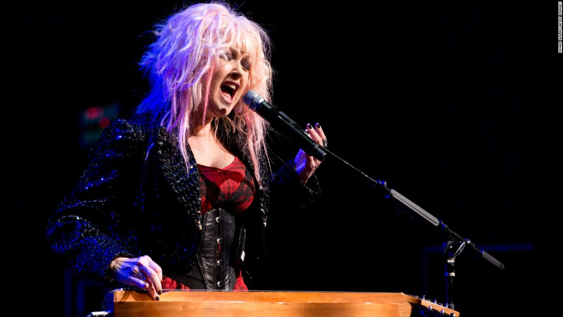"Cyndi Lauper's distinctive voice sang the theme song to ""Pee-Wee's Playhouse"" and on her followup to ""She's So Unusual,"" 1986's ""True Colors."" But in recent years, her biggest success has been on Broadway: Lauper composed the music for 2013's ""Kinky Boots"" and won a Tony for her effort."