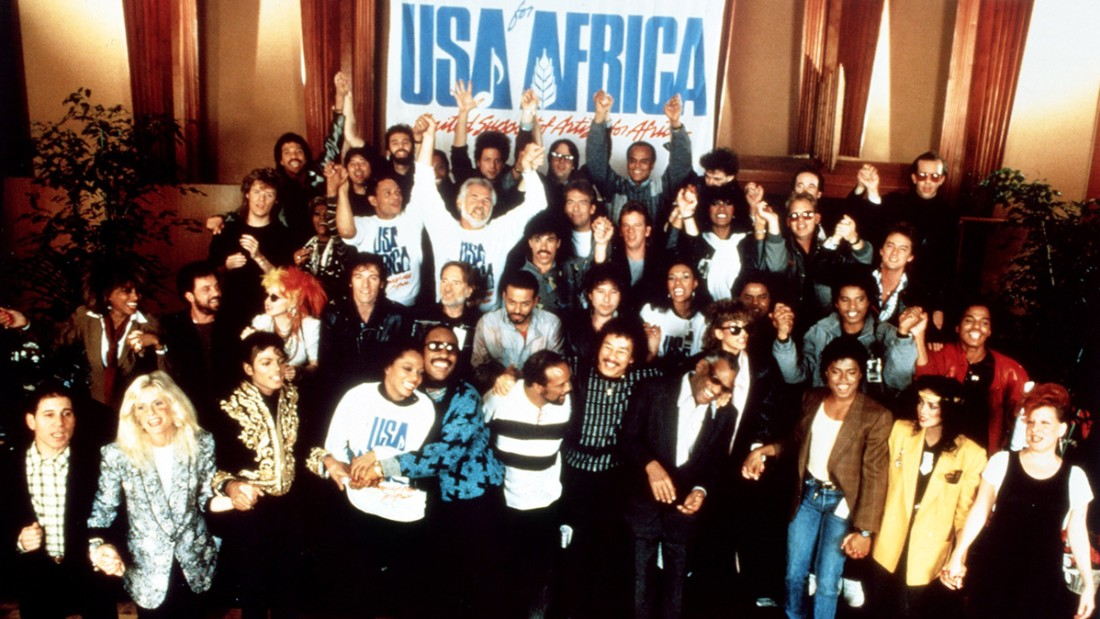 "A crowd of famous musicians and performers gathered to sing ""We Are the World,"" a fund-raiser for African famine relief, on January 28, 1985. Here's what some of them have done in the years since:"