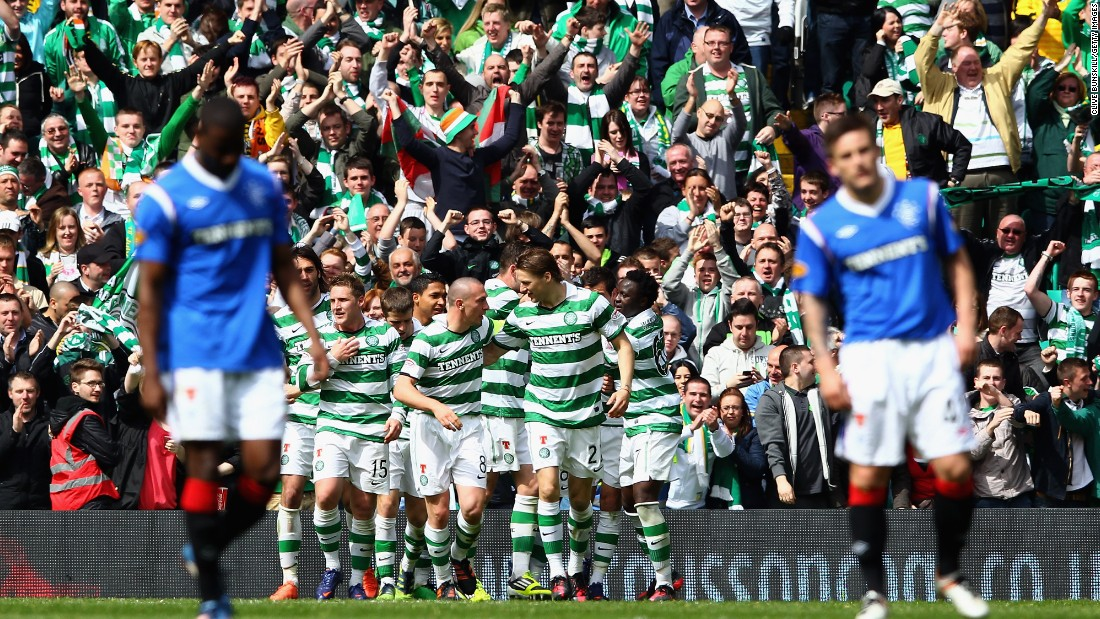 The two sides have not faced each other since this 3-0 victory for Celtic in April 2012.