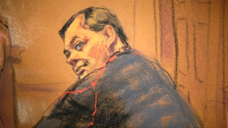 Court documents show that Evgeny Buryakov, seen here in a court sketch, began meeting with an undercover FBI agent who he believed to be an energy company analyst in 2012.