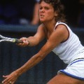 evonne goolagong wimbledon playing