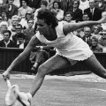 evonne goolagong wimbledon black and white