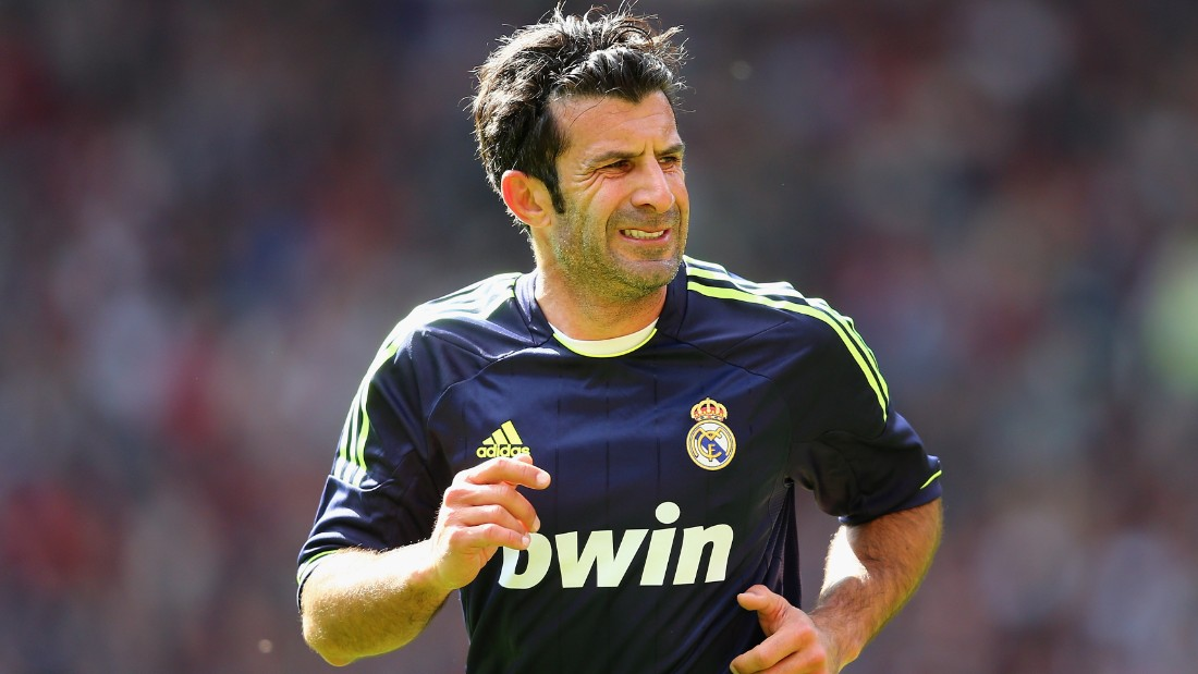 Figo still dons his boots every now and then, playing in charity matches for Real Madrid in recent years.