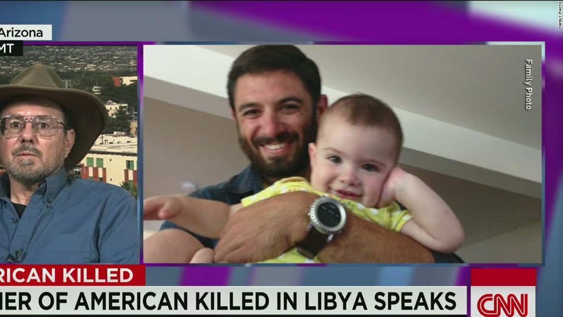 Father of American killed in Libya says son was a patriot