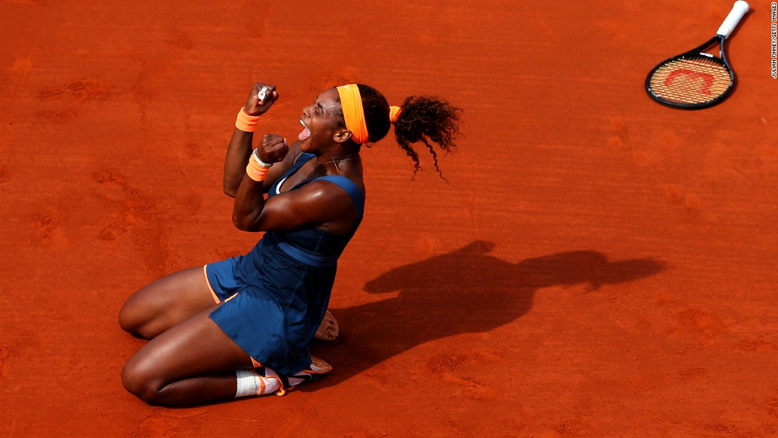 Williams and Sharapova last met in a grand slam final at the 2013 French Open, with Williams prevailing.