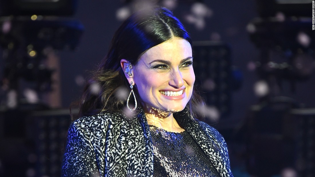 """Let it go"" singer Idina Menzel will be serenading fans with the national anthem at the Super Bowl final."