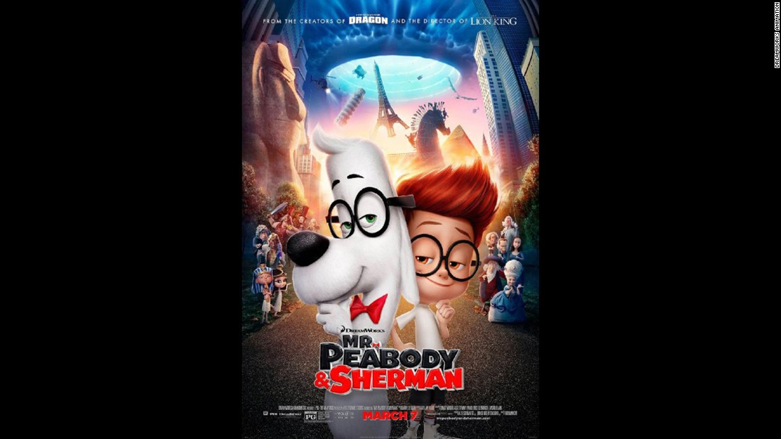 "<strong>""Mr. Peabody & Sherman"" (2014)</strong>: The beloved animation gets a modern update in this film about a time-traveling canine and his adopted son. <strong>(Netflix) </strong>"