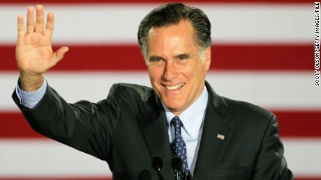 Romney won't run for president in 2016