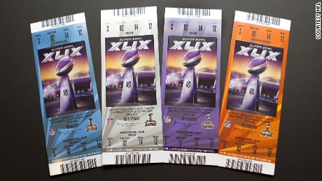 Take a look at these coveted Super Bowl tickets