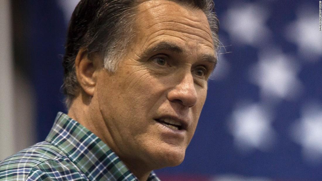 Mitt Romney will not run in 2016