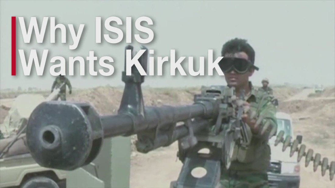 ISIS launches attack on oil-rich northern Iraqi city of Kirkuk