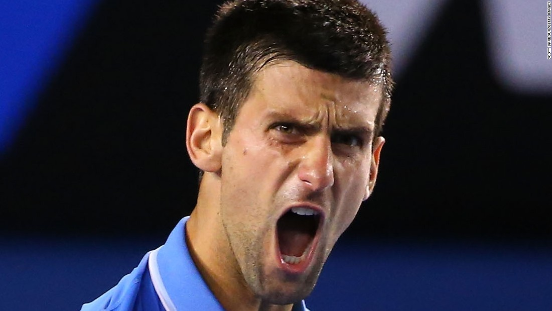 Novak Djokovic reached a record fifth Australian Open final by defeating Stan Wawrinka in five sets Friday.