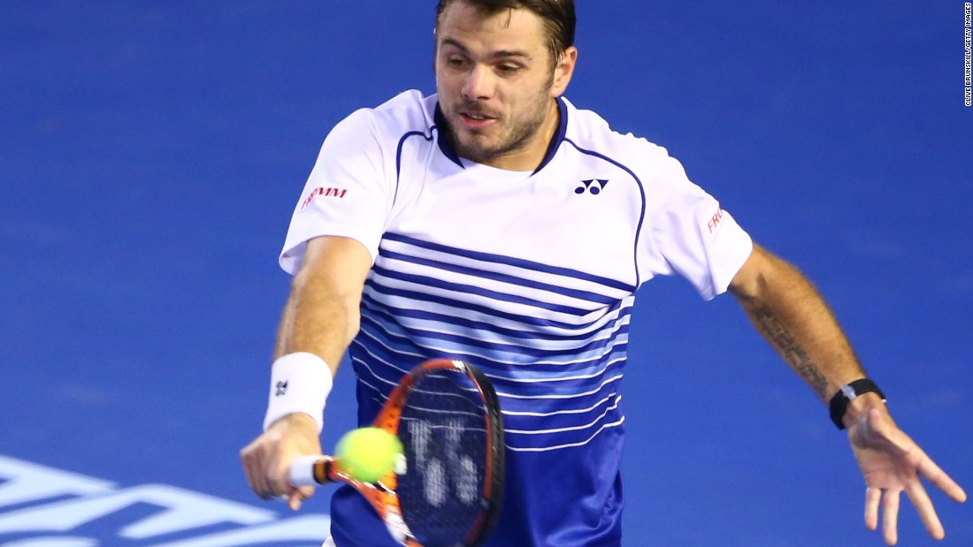 Wawrinka, the defending champion, had rallied from a break down in the fourth and had the momentum entering the fifth.