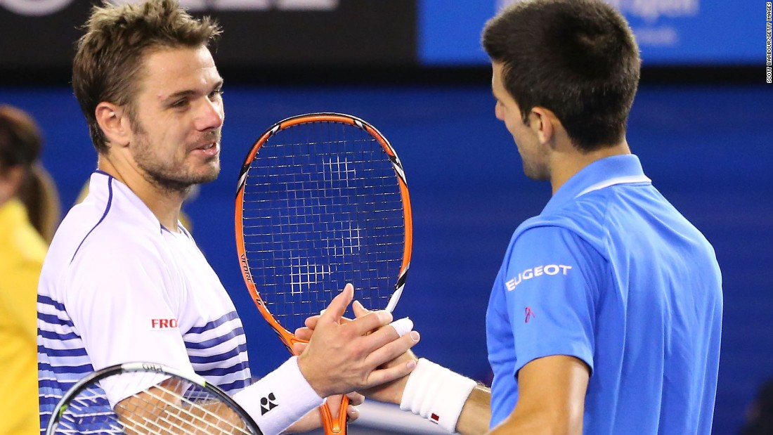 It was the pair's fourth consecutive fifth-set match at a grand slam. Wawrinka won 9-7 in the fifth last year.