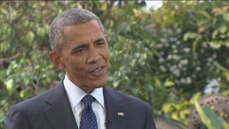 President Barack Obama says he's proud of the current state of the economy.