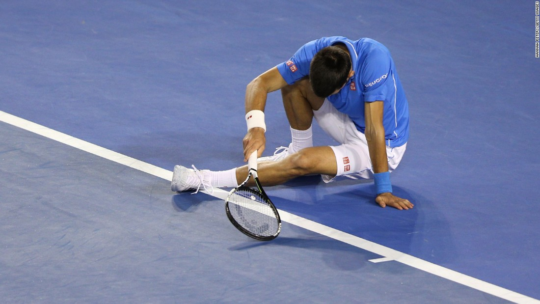 Djokovic wilted physically in the third and Murray had all the momentum when he led 2-0.