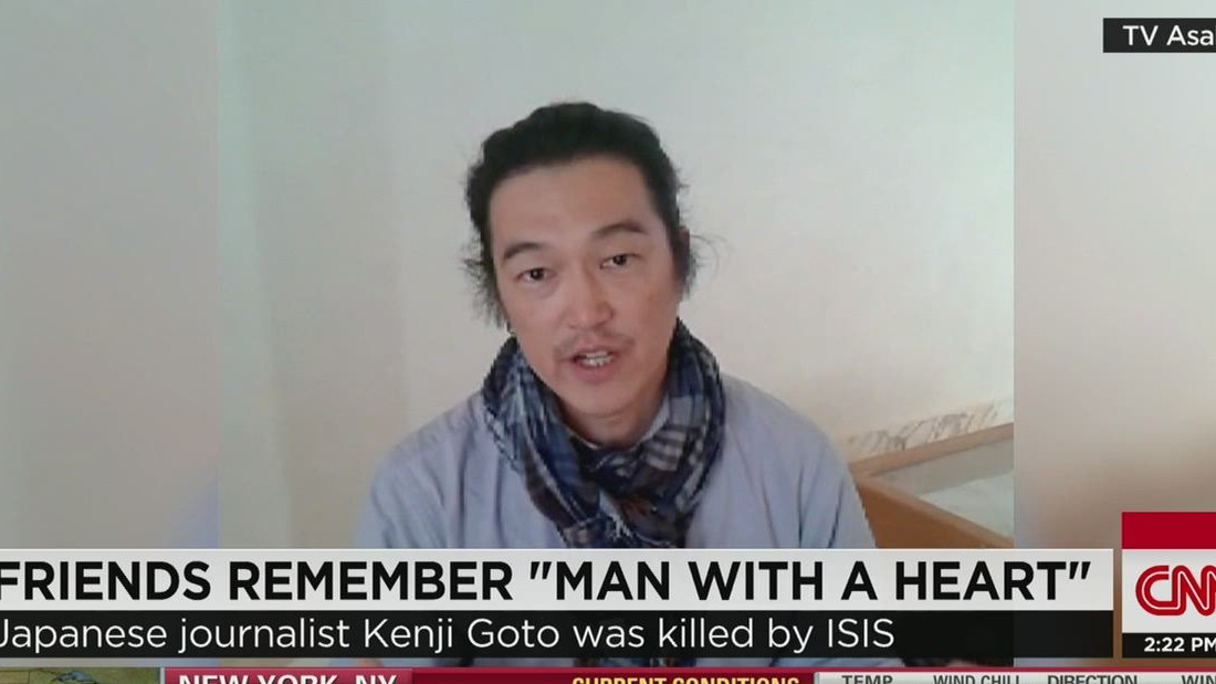 Japan: 'We will never, never forgive' ISIS for apparent beheading