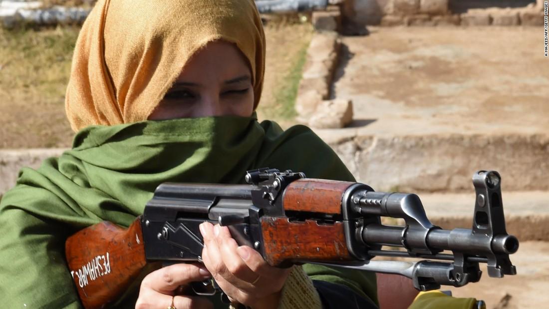 After terrifying school massacre, Peshawar teachers pack guns