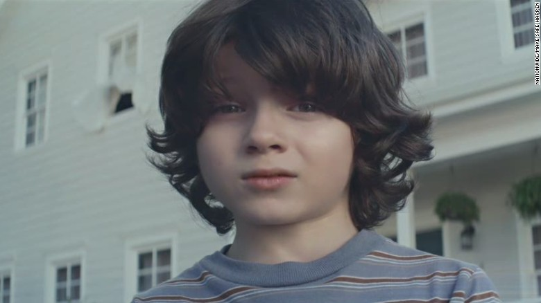 Nationwide gambles on risky Super Bowl ad
