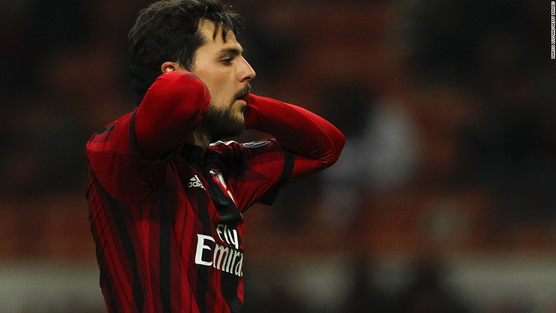 Mattia Destro signed for Milan on loan from Roma with a view to a permanent deal at the end of the season. The 23-year-old was keen to get more game time.