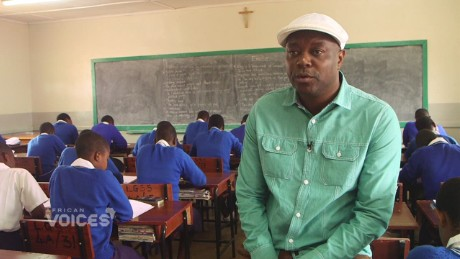 Radio mogul takes life lessons to the classroom
