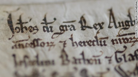 Magna Carta: Manuscripts united to mark 800th anniversary