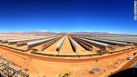 World's largest concentrated solar plant causing a buzz in the Sahara